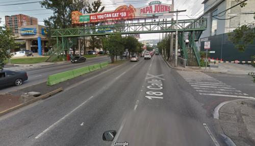 En esta área estará colocada la nueva señalización. (Foto: captura Google Maps)