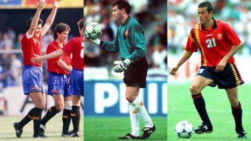 """Míticos futbolistas utilizaron los zapatos Kelme, que se distinguían por su tradicional letra """"K"""" en los costados. (Foto: Marca)"""