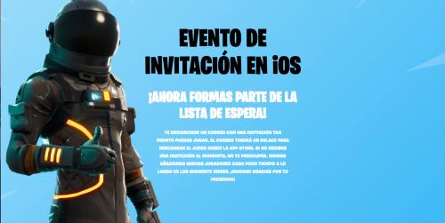 Para recibir la invitación debes registrarte en la página de Epic Games. (Imagen: captura de pantalla)