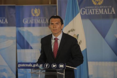 Aguilar confirma que la empresa está pagando las prestaciones correspondientes. (Foto: Alejandro Balán/Soy502)