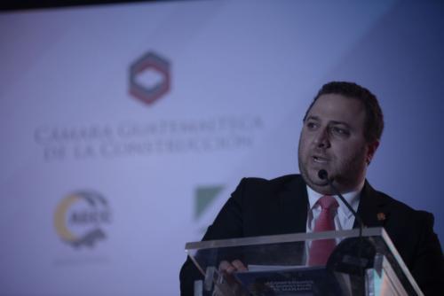 Javier Ruiz, presidente de la gremial de constructores. (Foto: Wilder López/Soy502)