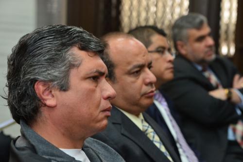 Gustavo Martínez el exsecretario privado de Otto Pérez enfrentará juicio por el caso TCQ. (Foto: Jesús Alfonso/Soy502)
