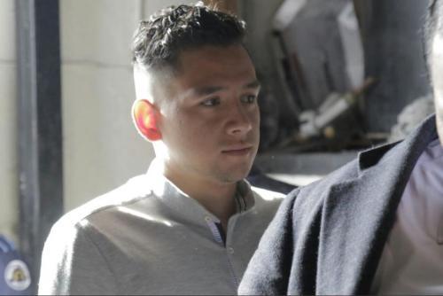 Así acudió al inicio del juicio en agosto del año pasado. (Foto: Alejandro Balán/Soy502)