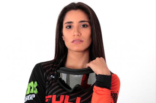 La bella y talentosa Marisa Méndez deslumbra en las pistas de BMX en Guatemala. (Foto: Alejandro Balán/Soy502)