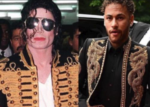 Por el traje que utilizó Neymar en la gala fue comparado con un atuendo de Michael Jackson. (Foto: Instagram)