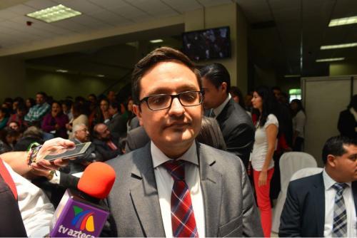 Juan Francisco Sandoval ha seguido los casos La Línea y otros de corrupción en la política. (Foto: Jesús Alfonso/Soy502)