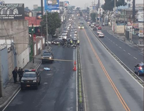 El hecho complica la movilidad en el área. (Foto: Dalia Santos/PMT)