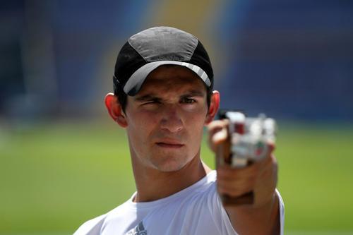 Charles se preparó las últimas semanas en Guatemala. (Foto: Comité Olímpico Guatemalteco)
