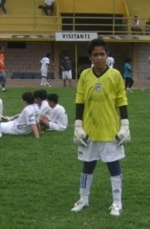 Desde niño, a Gilder le gustó ser portero y a sus 17 años ya se entrena con la Selección mayor guatemalteca. (Foto: Gilder Lemus)