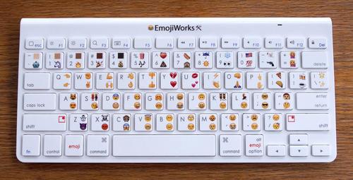 El Emoji Keyboard Plus tiene un precio de $74.95 y tiene dos emojis en cada tecla. (Foto: emojiworks.co)