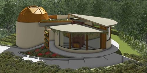 Este es un modelo de una casa inteligente más grande, un nuevo proyecto en el que trabaja CASSA. (Imagen cortesía de CASSA)