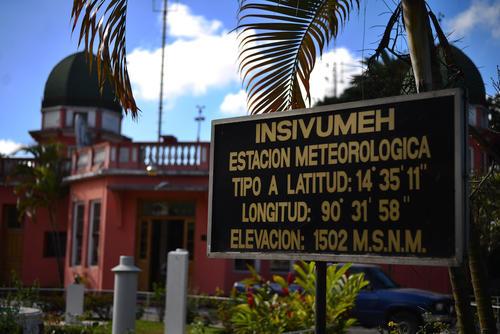 Esta es la fachada del Insivumeh. (Foto: Jesús Alfonso/Soy502)