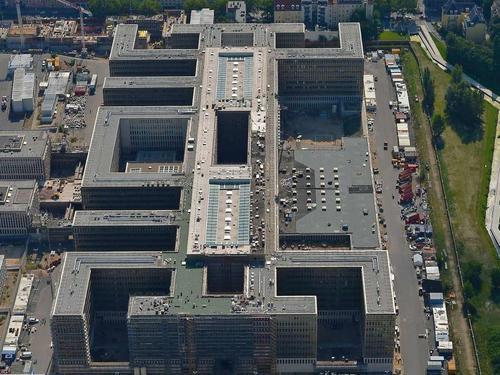 Este es el edificio del Bundesnachrichtendienst, la agencia de inteligencia alemana. (Foto: wikimapia.org)