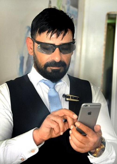 El turco Celal Göger. (Foto: techworm)