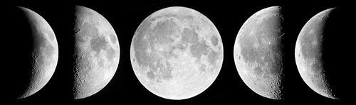 Las fases de la Luna han maravillado a la humanidad. (Foto: Fred Espenak/NASA/Cortesía Edgar Castro Bathen)