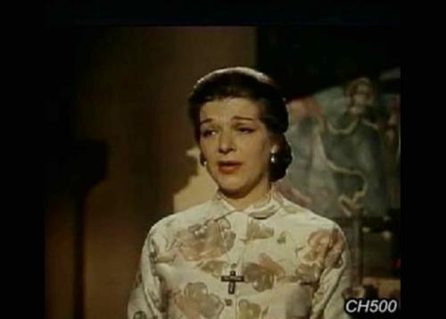 Así lucía Angelines Fernández cuando era joven. (Foto: captura de pantalla)