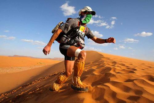 El clima, la condición física y la fortaleza mental juegan un papel importante para que los deportistas completen su recorrido. (Foto: Iron Guate)