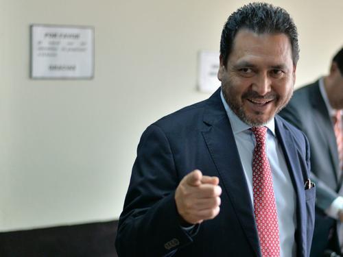 El exdiputado Gudy Rivera permanece en prisión desde el 9 de marzo cuando fue ligado a proceso. (Foto: Wilder López/Soy502)