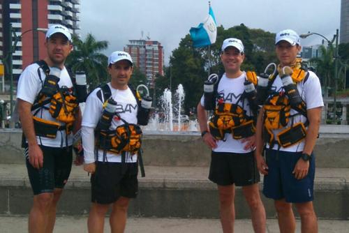 Los atletas nacionales esperan tener una buena participación en este desafío mental y físico. (Foto: Iron Guate)