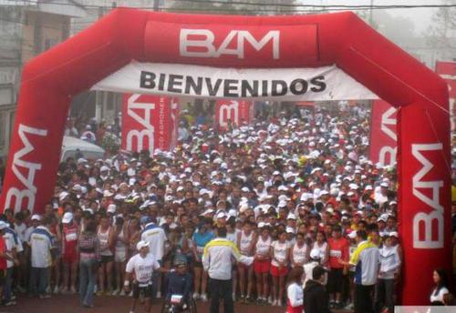 Se espera un participación de 4 mil atletas en la edición 2014 del medio maratón Max Tott. (BAM)