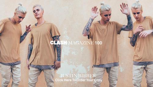 El joven canadiense aparecerá en la ejemplar número 100 de la revista Clash.   Fuente: Clash