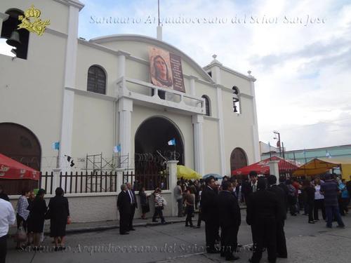 El Santuario Arquidiocesano de San José está en la 5a. calle Avenida San José zona 1 en Ciudad de Guatemala. (Foto: Facebook)