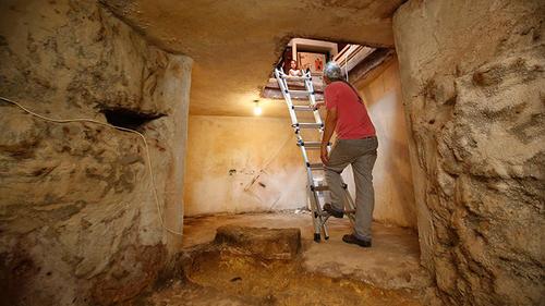 El lugar servía a los judíos para hacer ceremonias hace más de dos mil años en Jerusalén. (Foto: AFP)