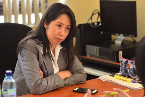 La jueza Erika Aifán tiene casi 15 años de carrera judicial. (Foto: Jesús Alfonso/Soy502)