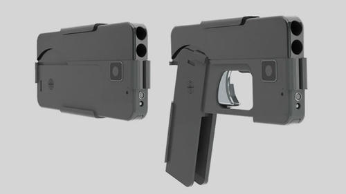 Esta pistola es de calibre .380 y cuenta con una empuñadura plegable. (Foto: Ideal Conceal)