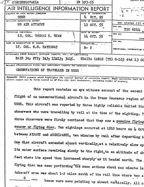 El informe secreto desclasificado. (Foto: actualidad.rt.es)