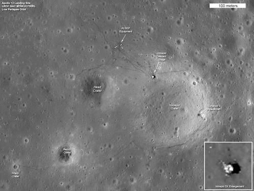 Imágenes de la sonda espacial Lunar Reconnaissance Orbiter (LRO) (Foto: nasa.gov)