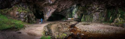 Así le pidió matrimonio, en la cueva Smoo de Escocia. (Foto: cortesía de la pareja)