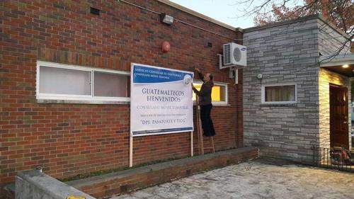 El Consulado Móvil Temporal (CMT), será habilitado durante casi un mes. (Foto: Cortesía Cancillería guatemalteca)