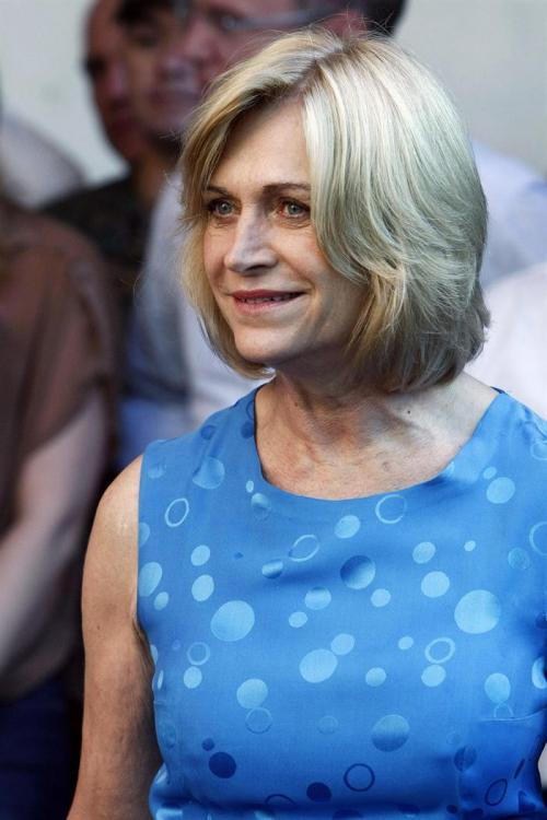 Evelyn Matthei, candidata oficialista, compite por la Presidencia de Chile en segunda vuelta.