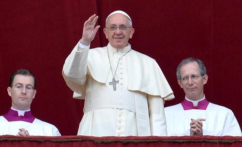El papa Francisco ha hecho la bendición de Navidad. (Foto: EFE)