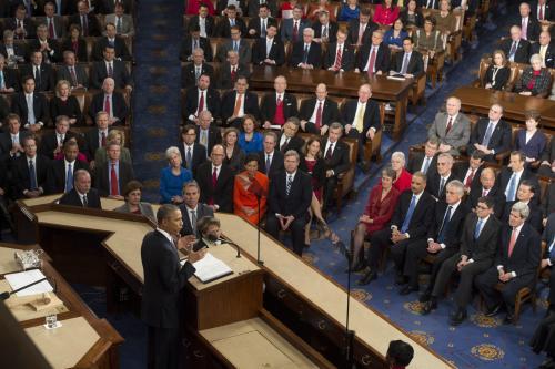 Demócratas y Republicanos vitorearon al presidente de Estados Unidos durante su discurso.  (Foto: EFE)