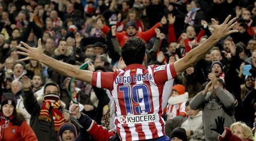 El Atlético de Madrid demostró con el resultado que estar en el liderato no es casualidad. Fueron 4 goles contundentes y la primera posición de la tabla. (Foto: EFE)