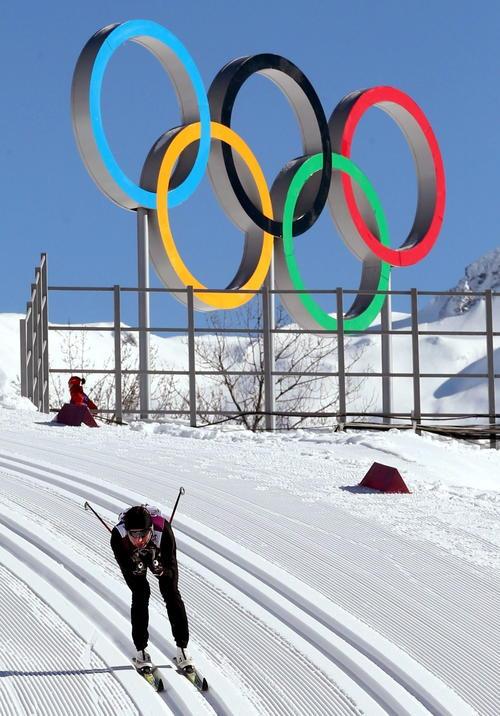 El esquí es el deporte rey de los Juegos de Inviernos de Sochi 2014. (Foto: Grzegorz Momot/EFE)