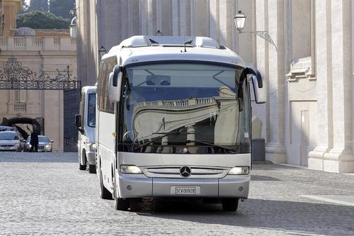 Por primera vez en muchos años, el papa ha sacado el retiro del Vaticano, para que los participantes puedan estar centrados en la oración. (Foto: AFP)