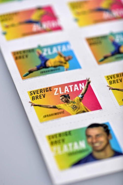 Los sellos con el rostro de Zlatan han generado ventas en un solo día equivalentes a la sexta parte de lo vendido en todo diciembre en Suecia y son cotizados en Francia. (Foto: EFE)