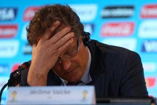 Jerome Valcke, secretario general de la FIFA, ya estuvo a punto de dejar al Arena Corinthians fuera de la lista de estadios mundialistas. (Foto: EFE)