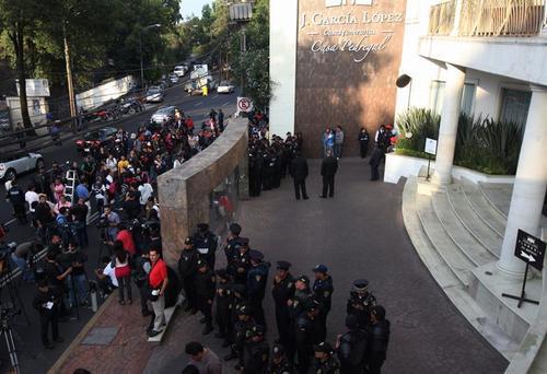 La Policía resguarda en México la privacidad de la familia del escritor Gabriel García Márquez. (Foto: EFE)