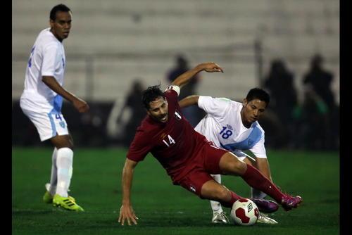 La selección de futbol de Guatemala perdió 1-0 frente a su par de Perú en un partido amistoso en octubre de 2015.
