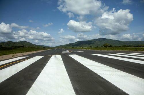La pista tiene una longitud de 1,525 metros por 30 metros de ancho. (Foto: EFE)