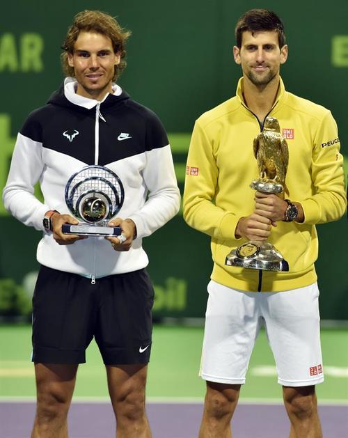 Djokovic venció a Nadal en 73 minutos, el partido más corto de los 47 que han disputado. (Foto: EFE)