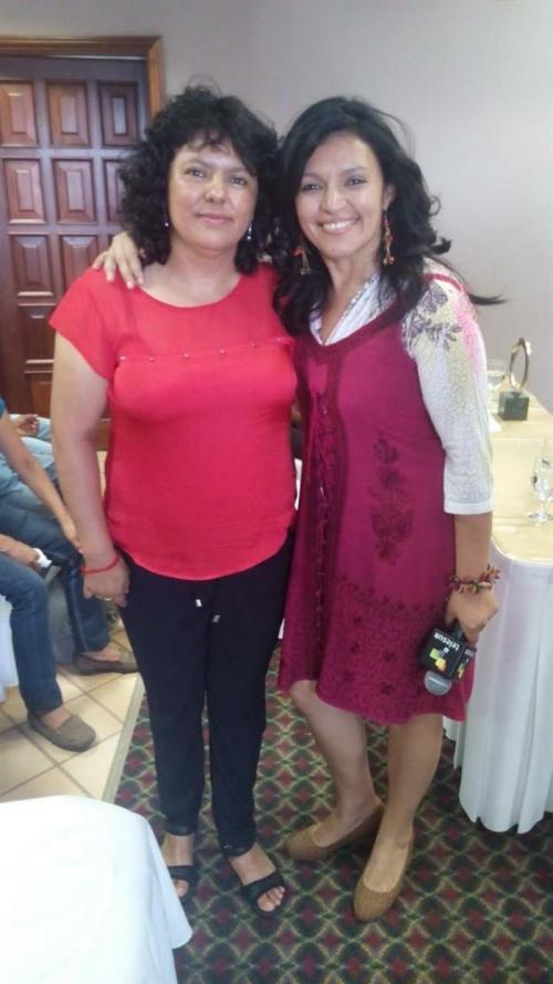 La activista fue asesinada el pasado jueves en su casa en la ciudad occidental de La Esperanza. (Foto: EFE)