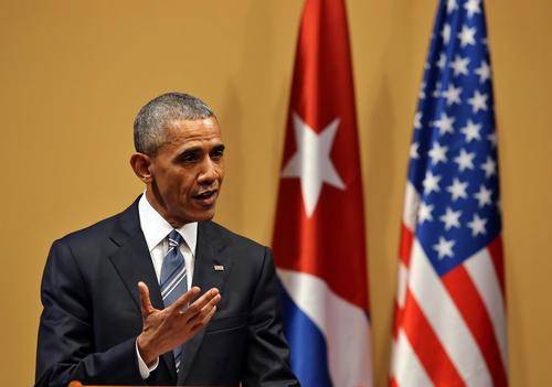 """""""No vemos a Cuba como una amenaza para Estados Unidos"""", dijo también Obama. (Foto: EFE)"""