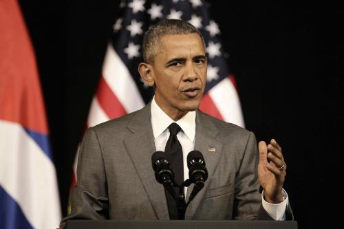 """Obama también aseguró que la reconciliación con los cubanos es """"fundamental"""". (Foto: EFE)"""