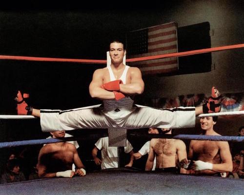 """Van Damme resaltó en su actuación en """"Retroceder Nunca, Rendirse Jamás"""" (No retreat, No surrender). (Foto: cineflex.com)"""