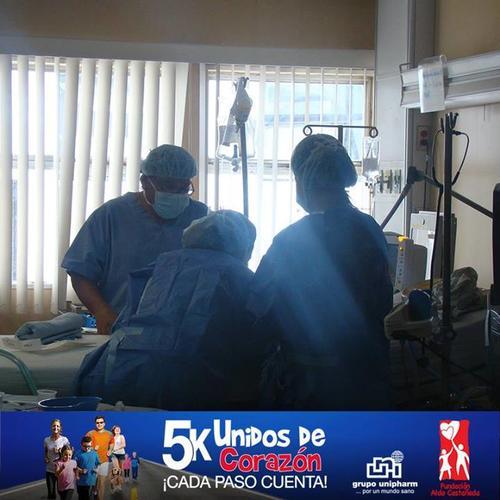 Afiche de la caminata 5k Unidos de Corazón en favor de la Fundación Aldo Castañeda. (Unipharm)